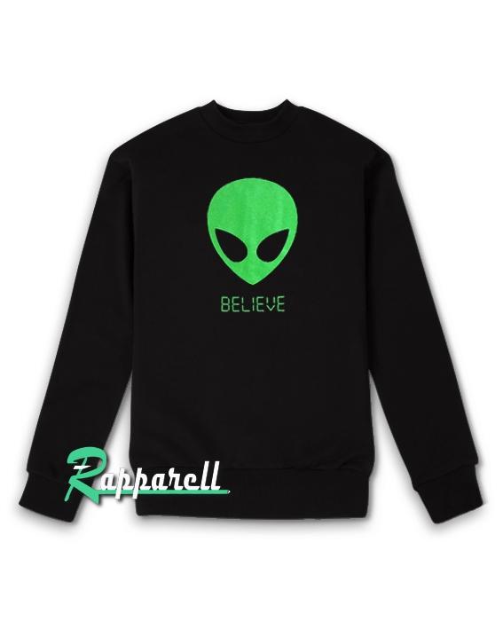Alien BELIEVE 90's Sweatshirt