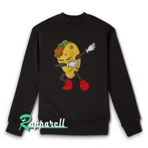 Dabbing Taco-Funny Taco Lover Gift Sweatshirt