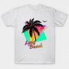 Long Beach Cool 80s Sunset Tshirt