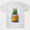 Pineapple hedgehog Tshirt