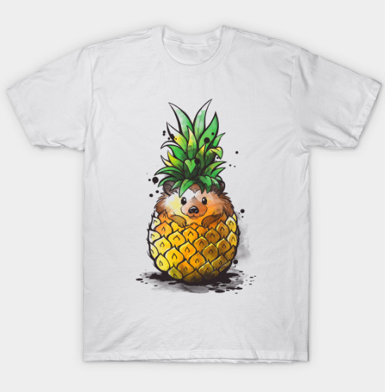 Pineapple hedgehog Tshirt