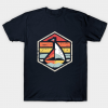 Retro Badge Sailboat Tshirt