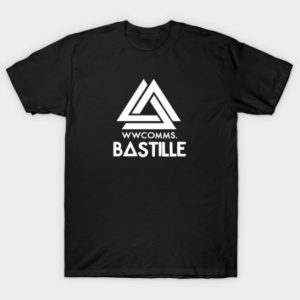 WWCOMMS. BASTILLE Tshirt