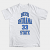 Larry Bird Indiana State 33 Tshirt