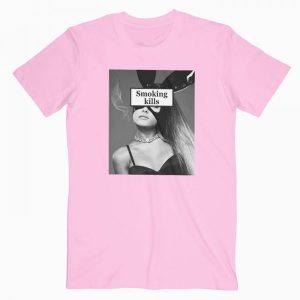Ariana Grande Smoking Kills Tshirt