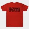 Michigan Marching Tshirt