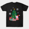 Peppa Pig Around The Christmas Tshirt