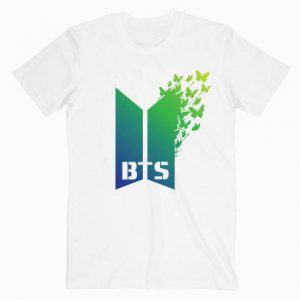 BTS Butterfly Music Tshirt