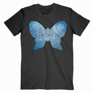 Coldplay Butterfly Music Tshirt
