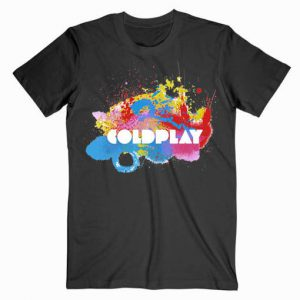 Coldplay Logo Music Tshirt