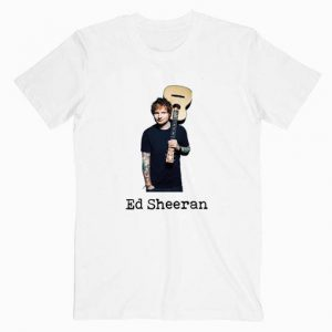 Ed Sheeran Photo Tshirt