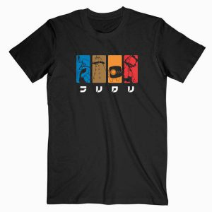 FLCL Fooly Cooly Anime Tshirt