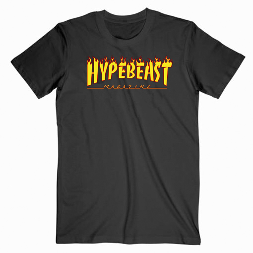 Hypebeast Tharsher Flame Tshirt