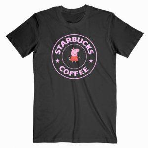 Peppa Pig X Starbucks Parody Tshirt