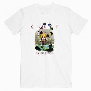 Queen Innuendo Album Cover Music Tshirt
