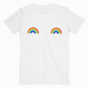 Rainbow Boobs Tshirt