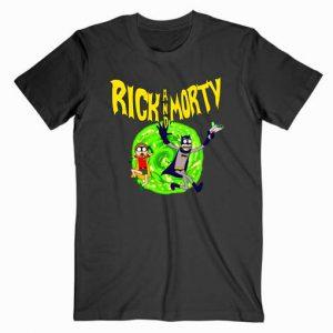 Rick and Morty Batman Tshirt