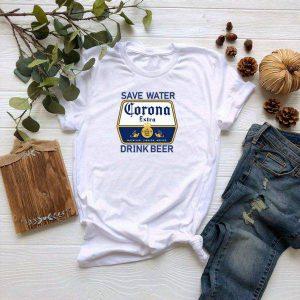 Save Water Drink Beer Corona Tshirt