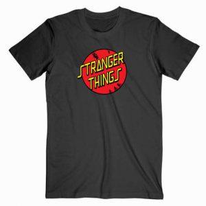 Stranger Things Circle Logo Tshirt