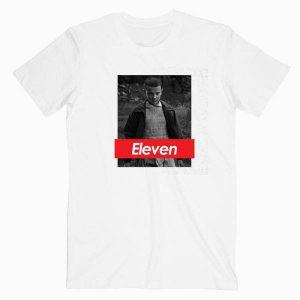 Stranger Things Eleven Supreme Tshirt