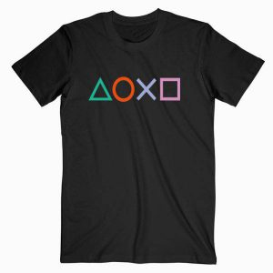 Playstation Button Logo Tshirt
