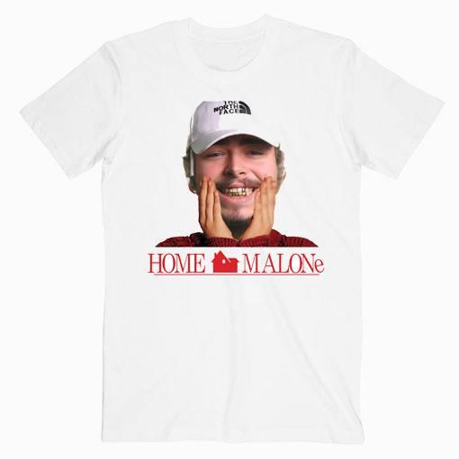 Post Malone Home Malone Music Tshirt