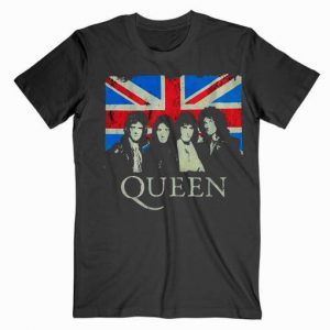 Queen England Flag Music Tshirt