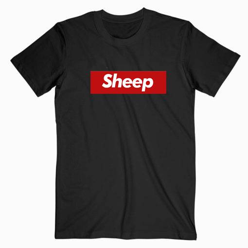 Sheep Supreme Parody Tshirt