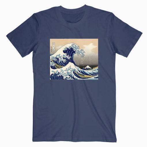The Great Wave off Kanagawa Unisex Tshirt