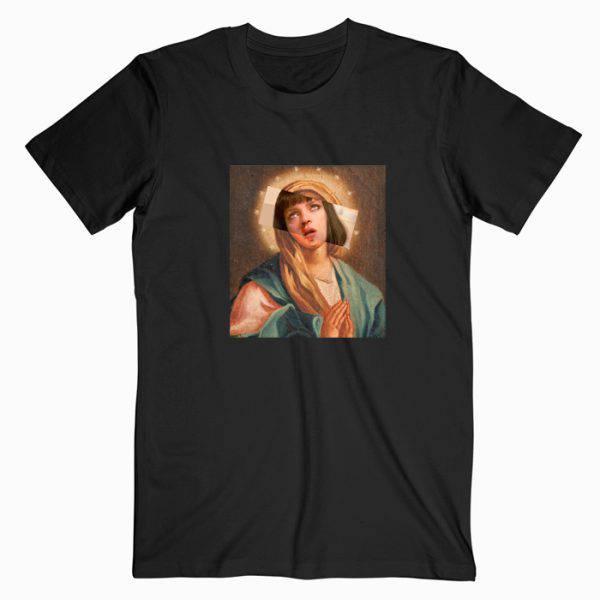 Virgin Mia Pulp Fiction Tshirt
