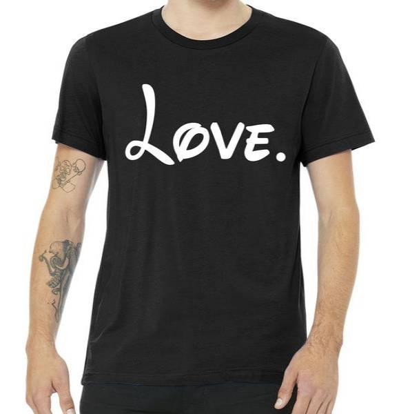 Cute Cursive Love Valentines Day Tshirt