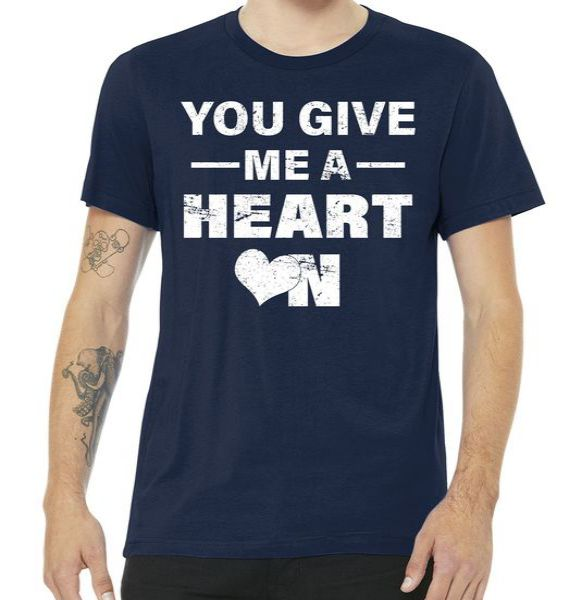 Funny Valentines Day Give Me A Heart On Tshirt