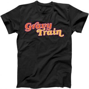 Gravy Train Retro Thanksgiving Tshirt