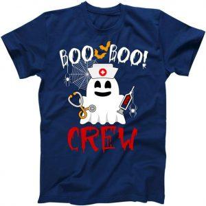 Boo Boo Crew Funny Cute Halloween Tshirt
