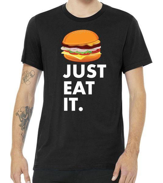 Just Eat It Hamburger Lover Tshirt