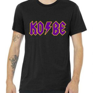 Kobe Lightning Music Logo Tribute Tshirt