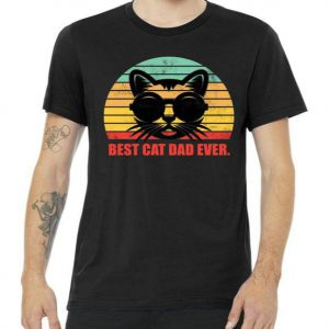 Best Cat Ever - Retro Vintage Tshirt