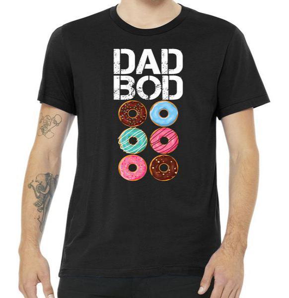Dad Bod Donut Six Pack Tshirt