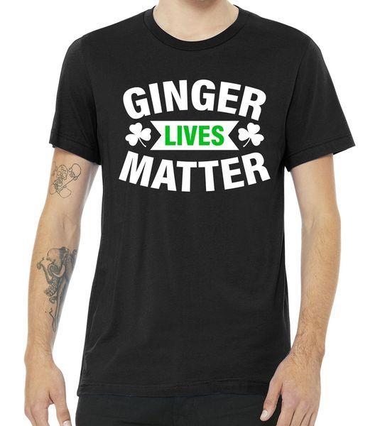 Ginger Lives Matter - St Patricks Day Tshirt