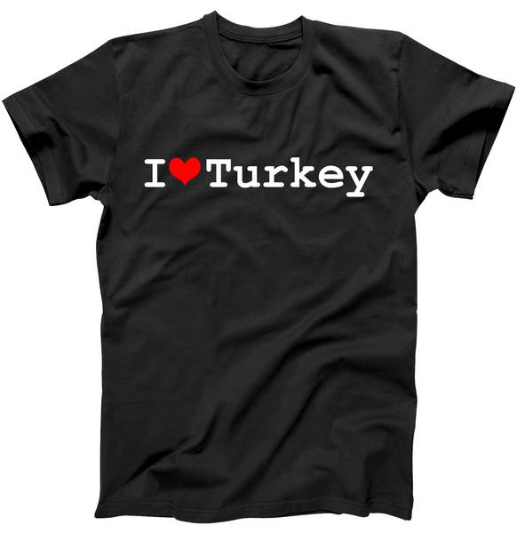 I Love Turkey Tshirt