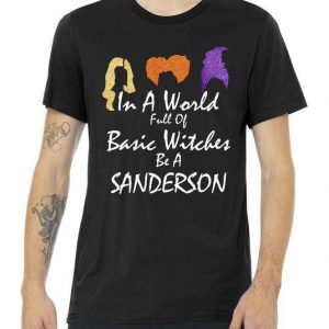 In A World Full Of Basic Witches Be A Sanderson Tshirt