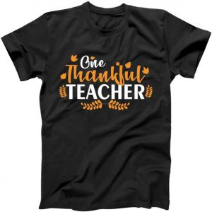 One Thankful Teacher Tshirt