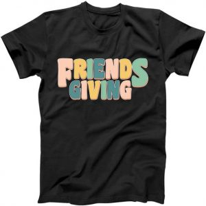 Retro Thanksgiving Friendsgiving Tshirt