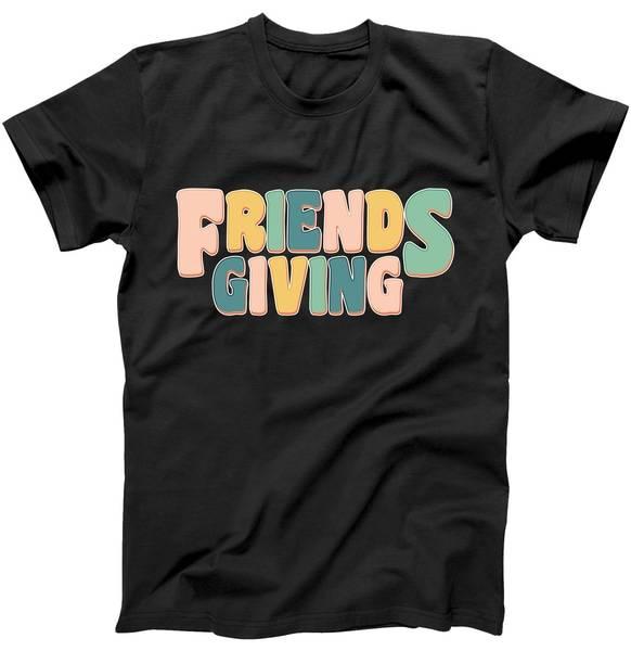 Retro Thanksgiving Friendsgiving Tshirt