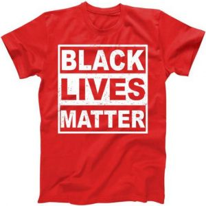 Distressed Black Lives Matter Logo Tshirt
