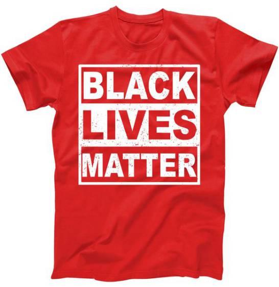 Distressed Black Lives Matter Logo Tshirt