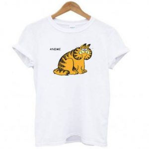 Anime Garfield Tshirt