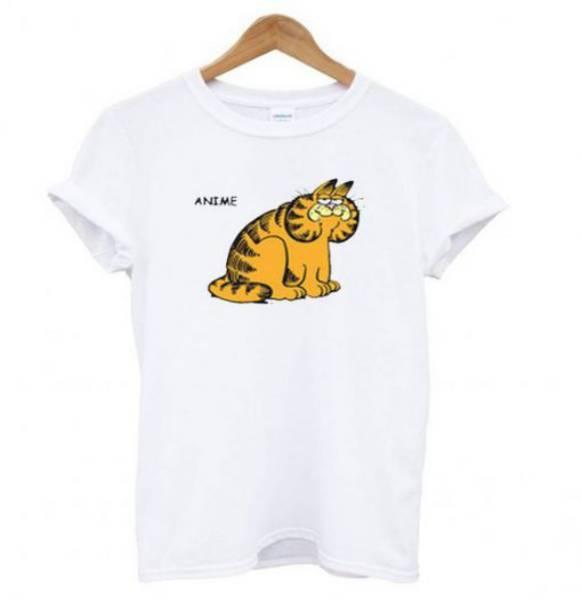 Anime Garfield Tshirt