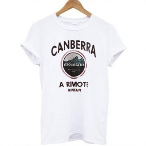 Canberra mountain Tshirt