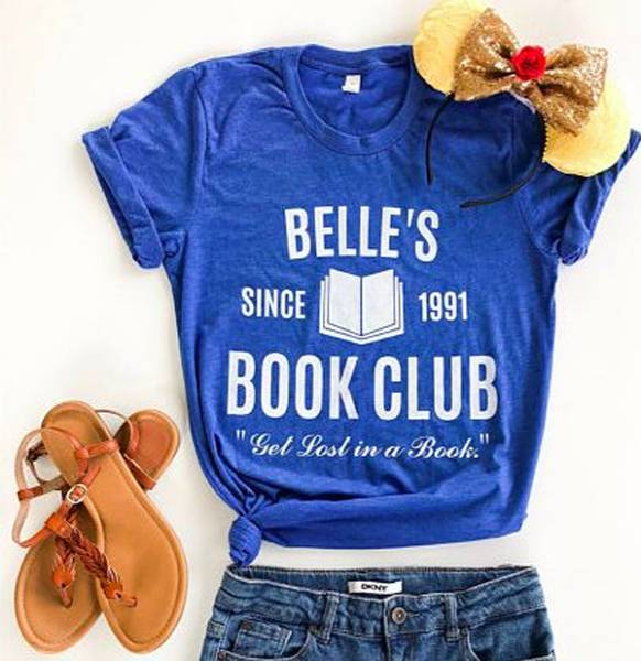 Belle's book club Tshirt